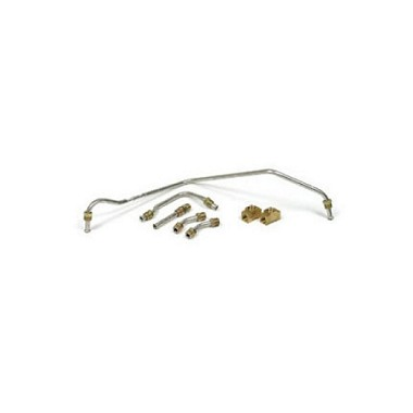 68-69 PUMP TO CARBURATOR FUEL LINE KIT S/S 400/435HP