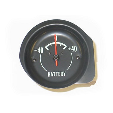 68-71 AMP/BATTERY GAUGE - REPRO