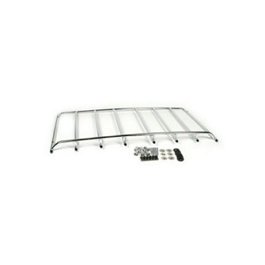 68-75 LUGGAGE RACK - 6-HOLE W/ HARDWARE (CHROME)