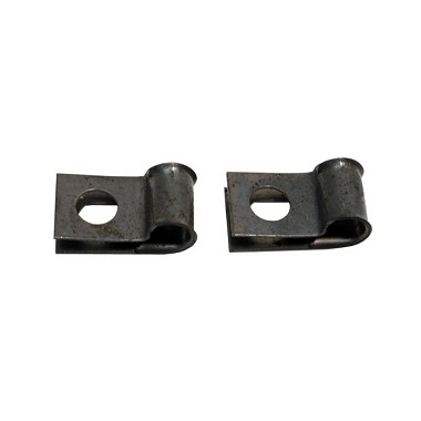 68-82 Hood Release Cable  CLIP PAIR