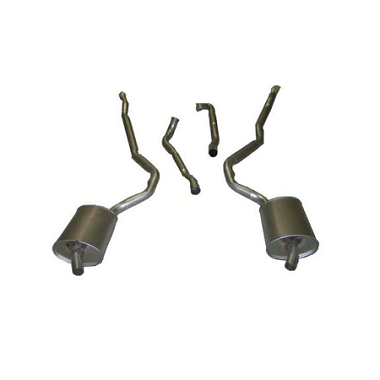 "68 EXHAUST PIPES - 2.5"" (4 SPEED/427 ENGINE) (4 PIECES)"