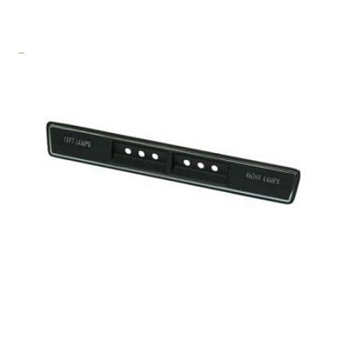 69-71 FORWARD CONSOLE TRIM PLATE  - FRONT