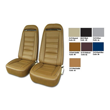 73-74 Leather Seat Covers Reproduction
