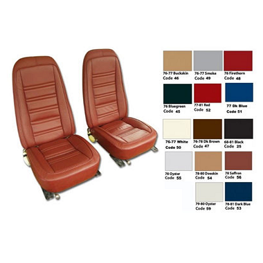 76-78 Leather Seat Covers Reproduction