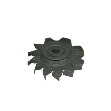 67-68 ALTERNATOR PULLEY (w/  FAN 300 HP w/  AC)