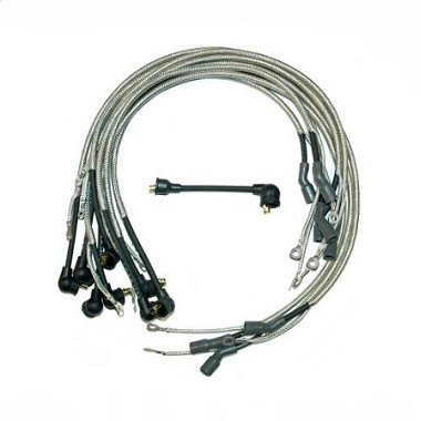 72L SPARK PLUG WIRE SET - 454 w/ O RADIO (DATED 1-Q-72)